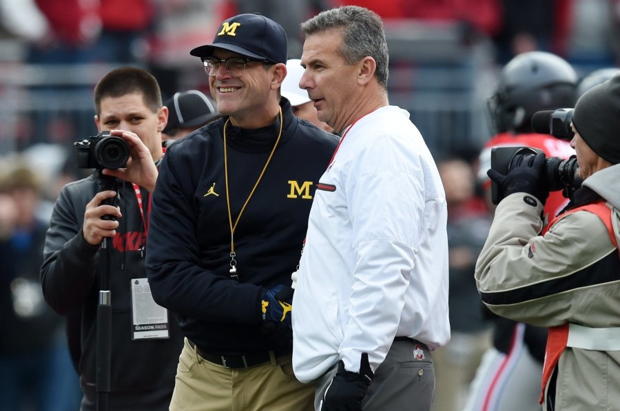 Jim Harbaugh Spanked by Urban Meyer…Again